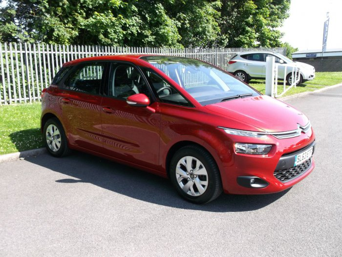 Citroen C4 Picasso 1.6 HDi VTR+ 5dr MPV Diesel Red