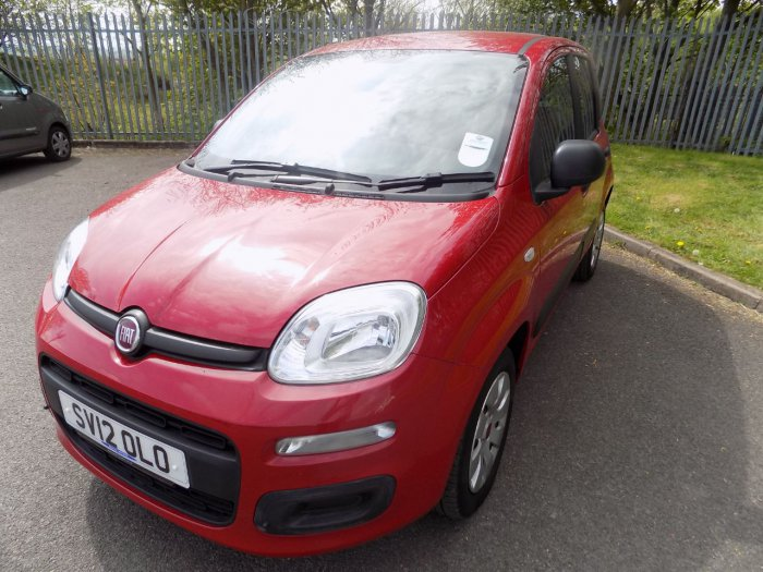 Fiat Panda 1.2 Pop 5dr Hatchback Petrol Red
