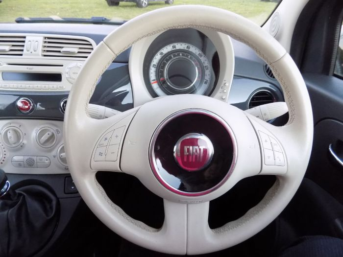 Fiat 500 1.2 Colour Therapy 3dr Hatchback Petrol Grey