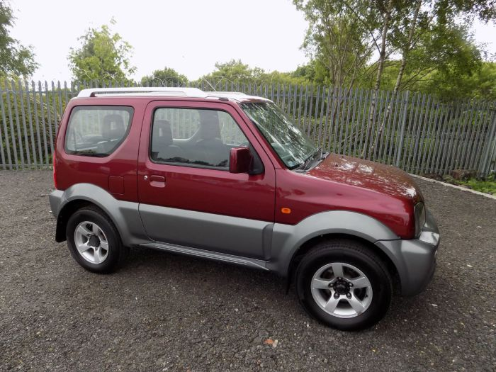Suzuki Jimny 1.3 VVT JLX + 3dr Estate Petrol Red