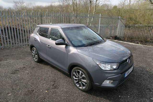 SsangYong Tivoli 1.6 D ELX 5dr Auto Hatchback Diesel Grey Metallic at Bescol Motors Bishop Auckland