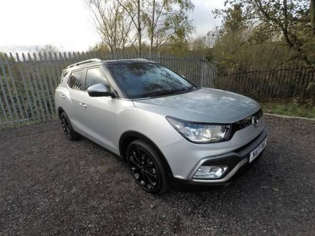 SsangYong Tivoli 1.6 D ELX 5dr Auto Estate Diesel Silent Silver Metallic at Bescol Motors Bishop Auckland