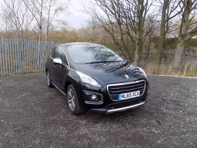 Peugeot 3008 1.6 BlueHDi 120 Allure 5dr Hatchback Diesel Metallic Diamond Black at Bescol Motors Bishop Auckland