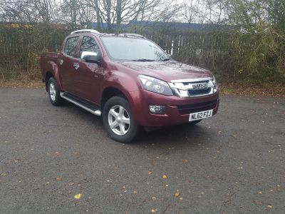 Isuzu D-max 2.5TD Utah Double Cab 4x4 Auto Pick Up Diesel RedIsuzu D-max 2.5TD Utah Double Cab 4x4 Auto Pick Up Diesel Red at Bescol Motors Bishop Auckland