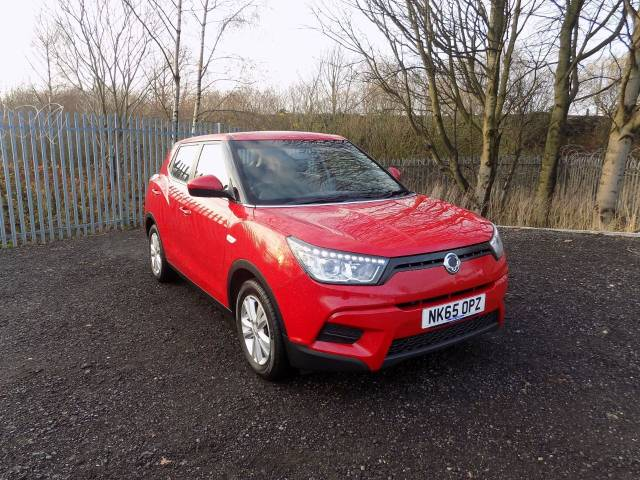 SsangYong Tivoli 1.6 SE 5dr Hatchback Petrol Red at Bescol Motors Bishop Auckland