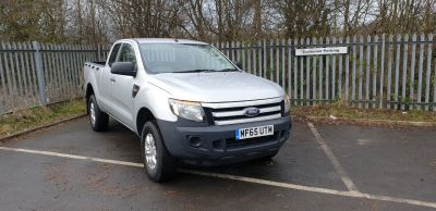 Ford Ranger Pick Up Double Cab XL 2.2 TDCi 150 4WD Pick Up Diesel SilverFord Ranger Pick Up Double Cab XL 2.2 TDCi 150 4WD Pick Up Diesel Silver at Bescol Motors Bishop Auckland
