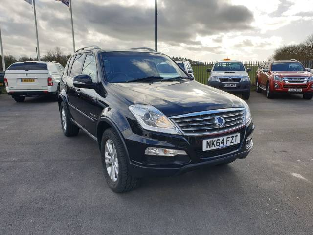 SsangYong Rexton 2.0 REXTON CS Four Wheel Drive Diesel Black at Bescol Motors Consett