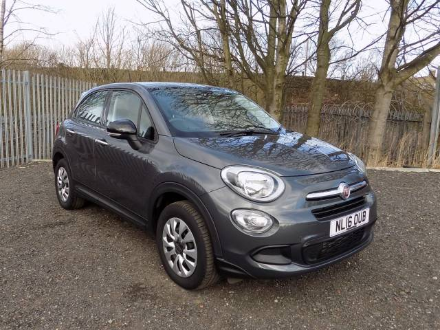 Fiat 500x 1.3 Multijet Pop 5dr Hatchback Diesel Grey at Bescol Motors Bishop Auckland