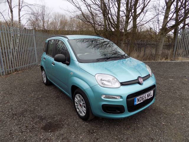 Fiat Panda 1.2 Easy 5dr Hatchback Petrol Light Turquiose Blue at Bescol Motors Bishop Auckland