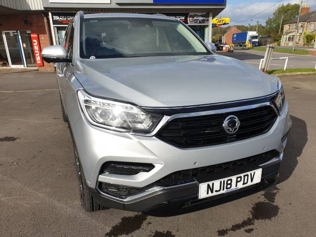 SsangYong Rexton 2.2 Ultimate 5dr Auto Estate Diesel Silver at Bescol Motors Consett