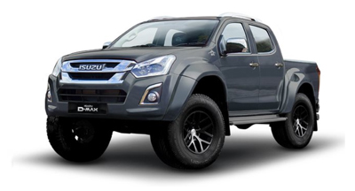 Isuzu Arctic Truck At35 - Available In Obsidian Grey