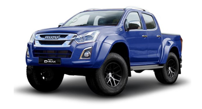 Isuzu Arctic Truck At35 - Available In Sapphire Blue