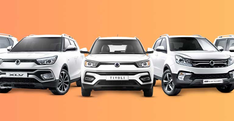 <strong>7 Year Warranty<br />Across the ssangyong range</strong>