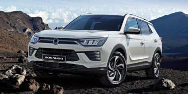 New SsangYong Korando from £16,295