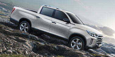 New SsangYong Musso from £16,795 <span>ex VAT</span>