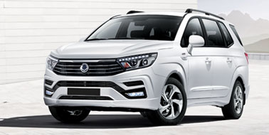 New SsangYong Turismo from £20,495
